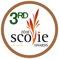 3rd Place Scovie Award