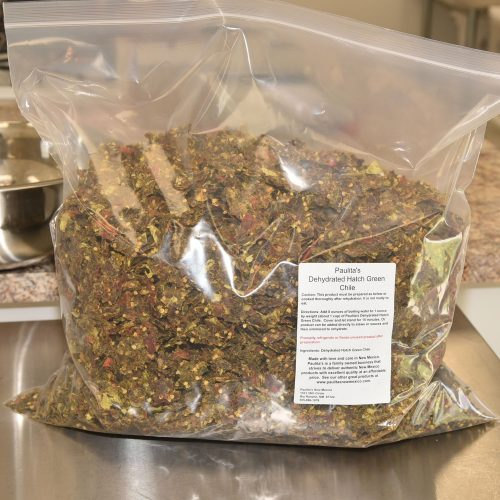 Paulitas' Dehydrated Hatch Green Chile Bulk