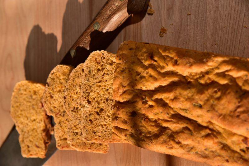 Paulita's Green Chile Bread