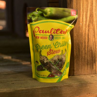 Paulita's Green Chile Stew Mild