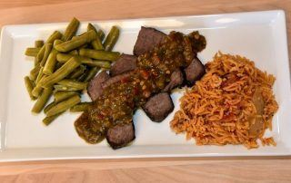 Paulita's Hatch Green Chile Marinaded Brisket