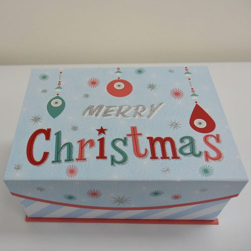 Merry Christmas Box Outside