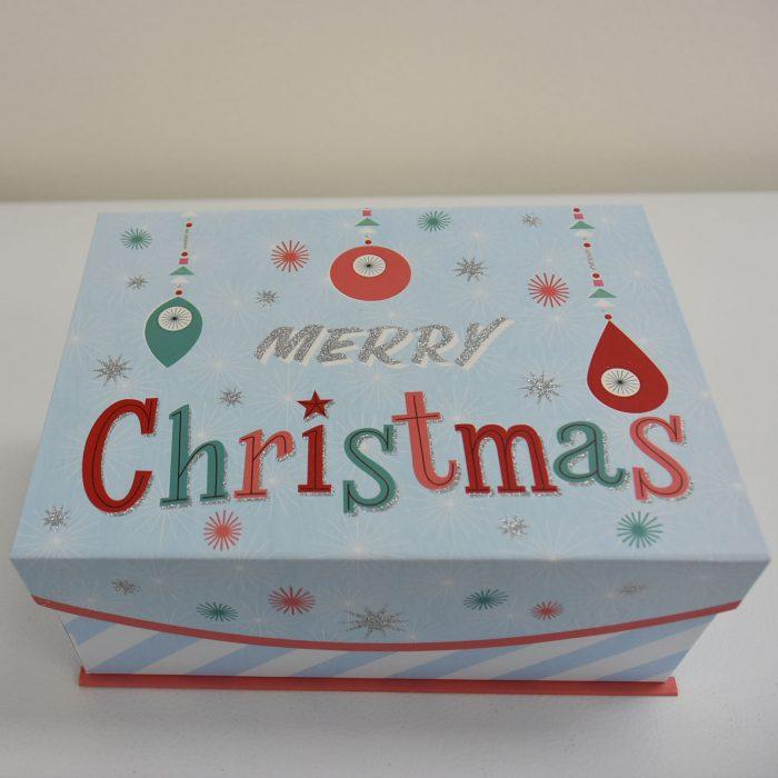 Merry Christmas Box Outside