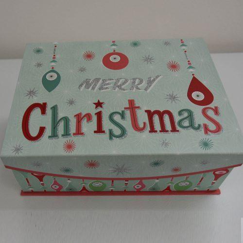 Merry Christmas Large Box