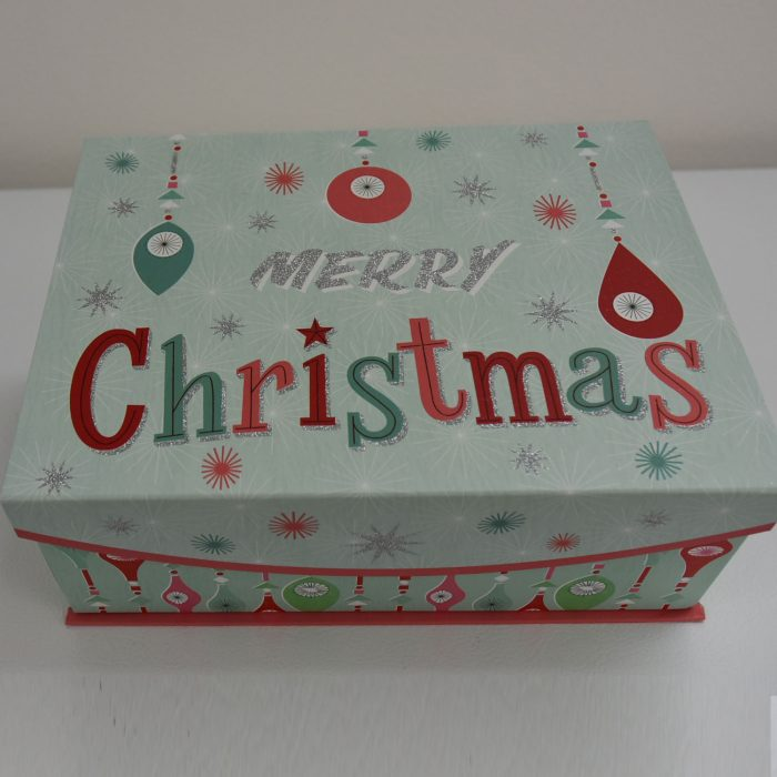 Merry Christmas Large Box